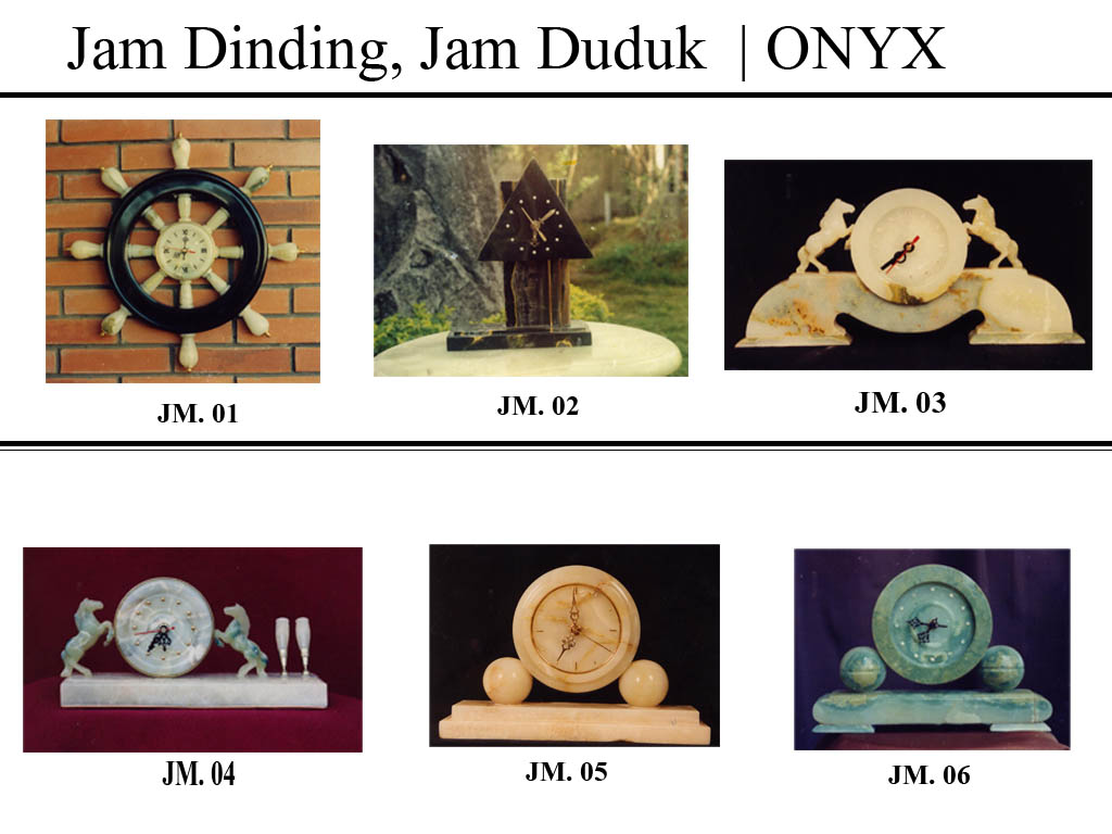 jam hias, jam dinding, jam dududk antik, batu onix, batu onyx, http://www.jualbatuonyx.com