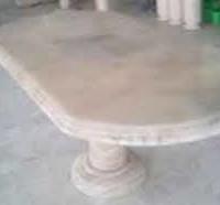 meja makan oval